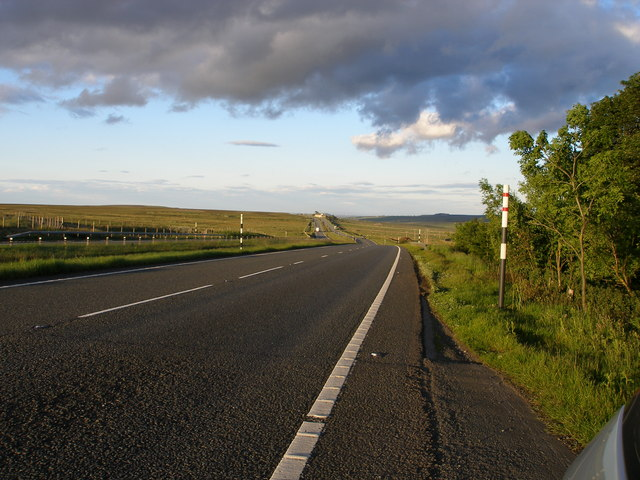 The A66/roman Road from Old Spital