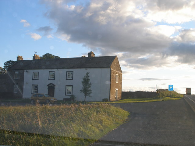 Old Spital, once a mail coaching Inn