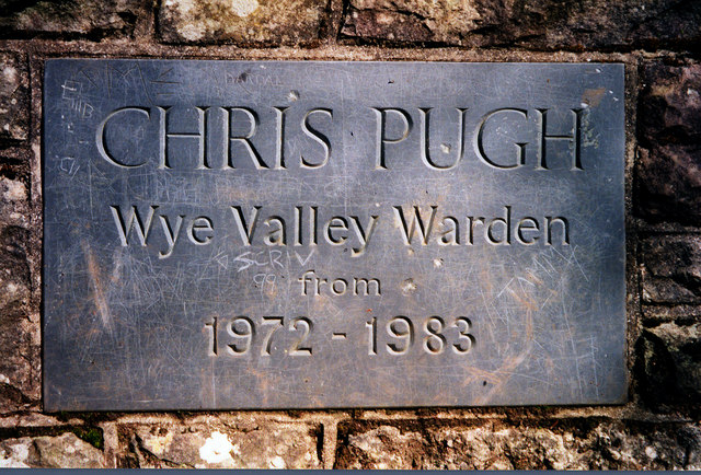 Commemorative plaque at the Wyndcliffe