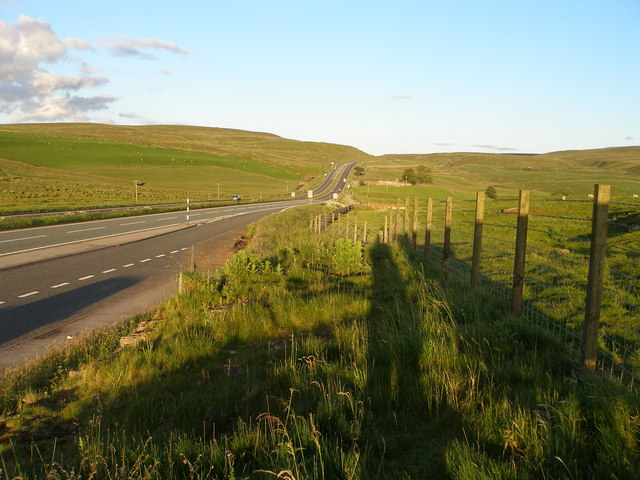 The A66 from Slapestones