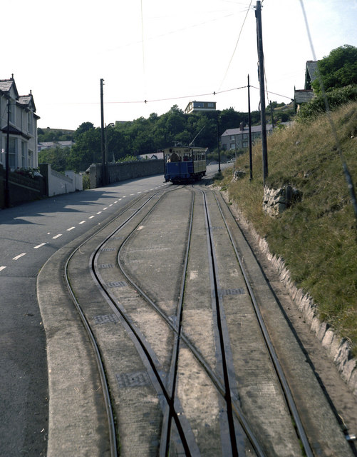Passing Loop, Lower Section, Great Orme Tramway