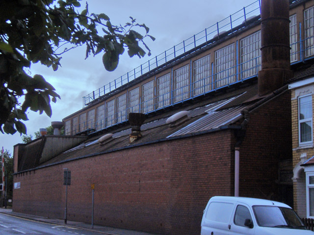 Shipham Valves factory, Hawthorn Avenue