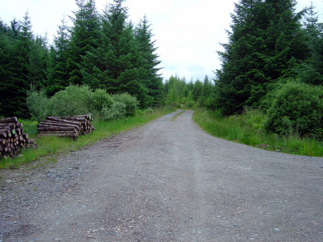 Carrick to Lochgair road:junction with Road to Lochgilphead