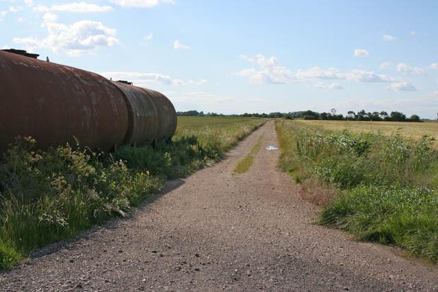 Farm track near Slates Farm