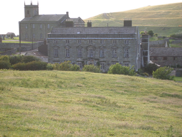 Moresby Hall manor house