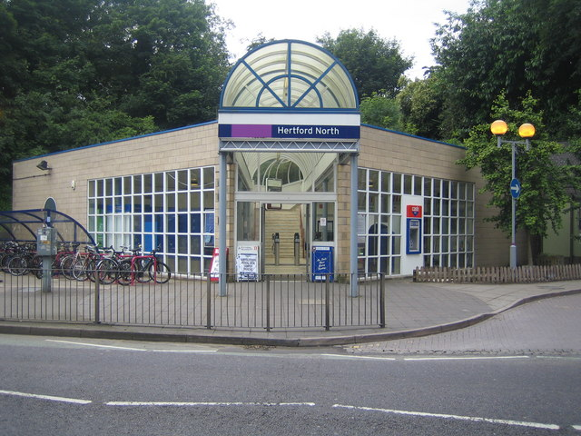 Hertford North railway station