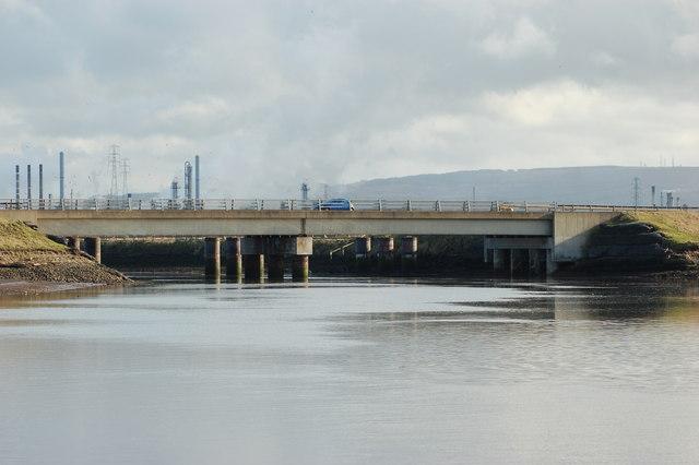 Bridge over Greatham Creek