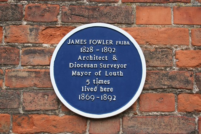 James Fowler blue plaque