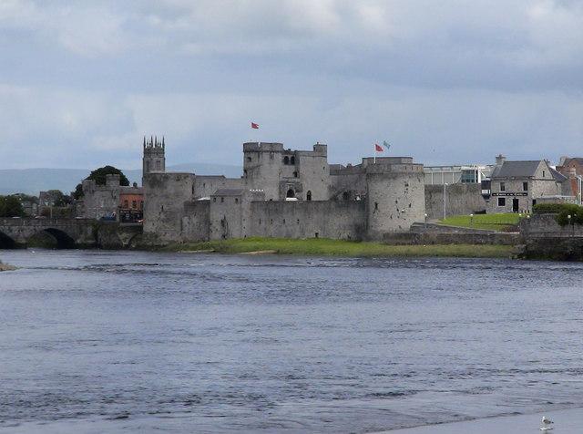 St John's Castle from Henry Street