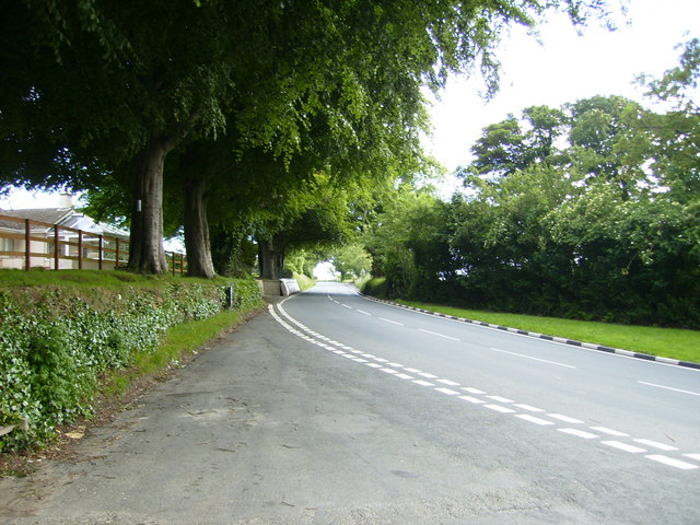 The TT Course from Hillberry heading back into Douglas