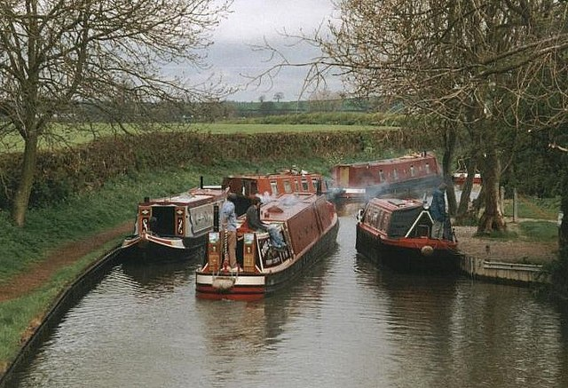 2002 : Upper Oxford Canal from Braunston Turn