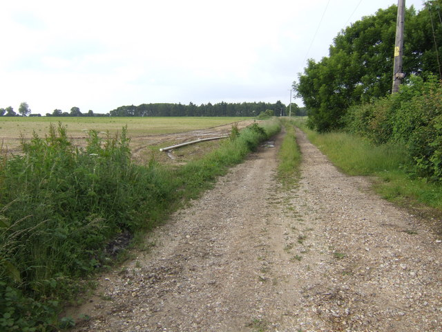 Footpath off West Acre Road, Swaffham