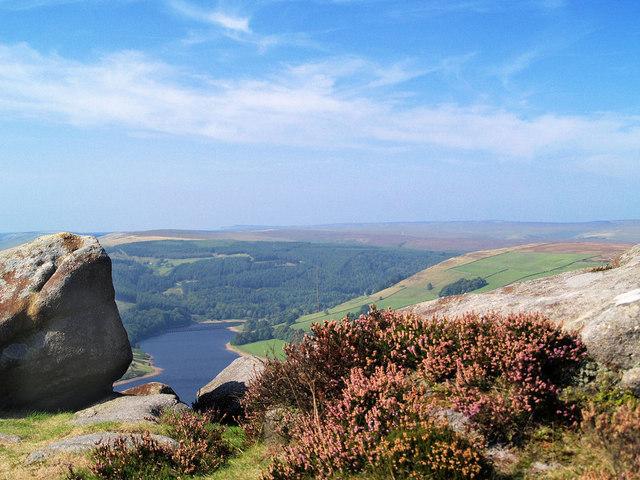 Looking North from Derwent Edge