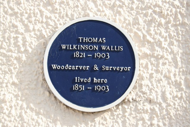 Thomas Wilkinson Wallis blue plaque