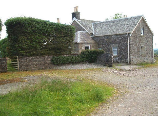 Wester Lundie Farmhouse