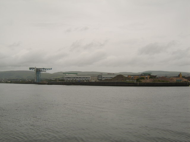 View to new Clydebank College