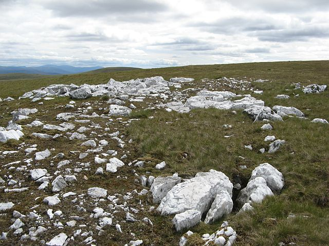 White stones, A' Bhuidheanach Bheag