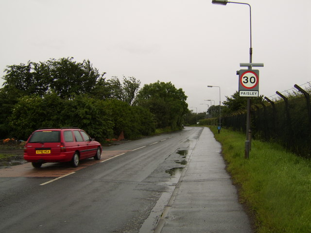 Sign for Paisley