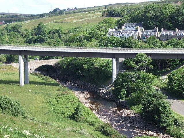 The Dunbeath Bridges