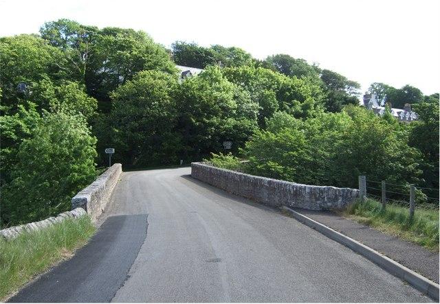 Old road bridge, Dunbeath