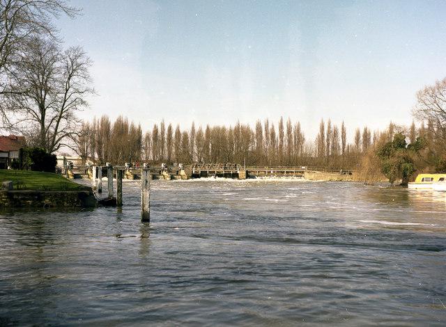 Caversham Weir, River Thames