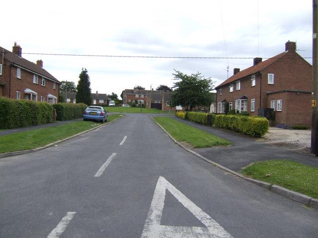 Civilian housing, Marham village