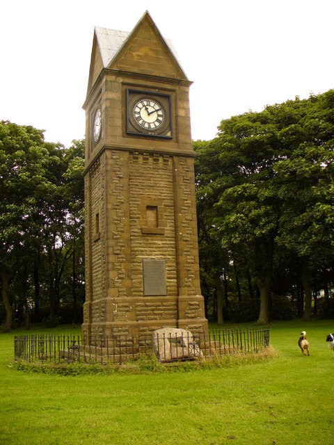 The Clock Tower, Victoria Park, Haslingden
