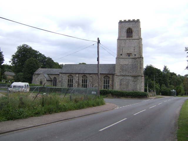 Holy Trinity church, Marham, Norfolk
