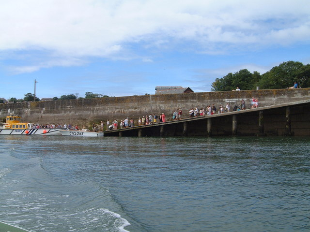 Padstow north quay slipway