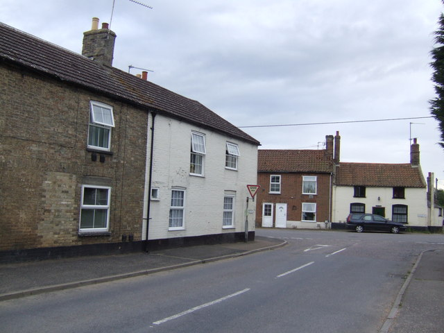 Corner of Marham Road and Swaffham Road, Fincham