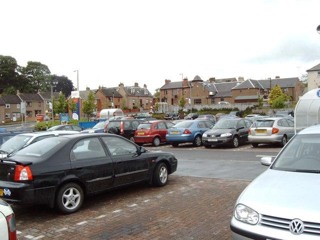 Supermarket Car park, Auchinleck