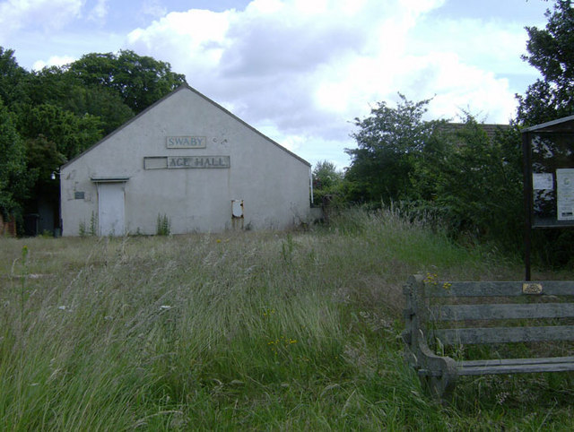 Swaby Village Hall, on the A16