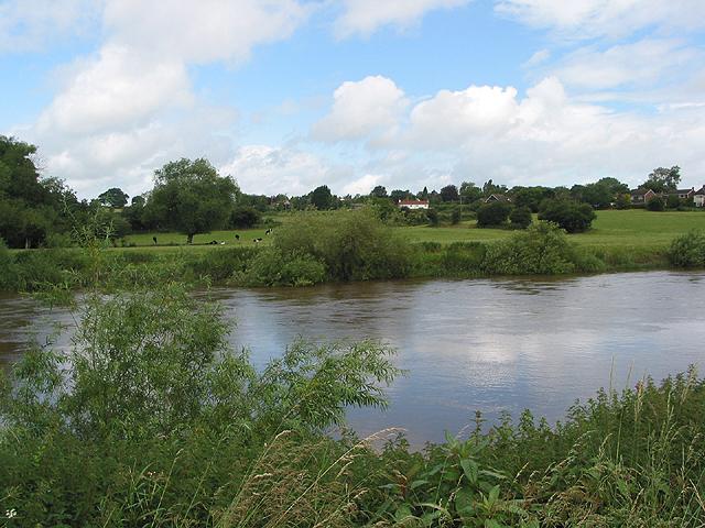 Swollen River Wye