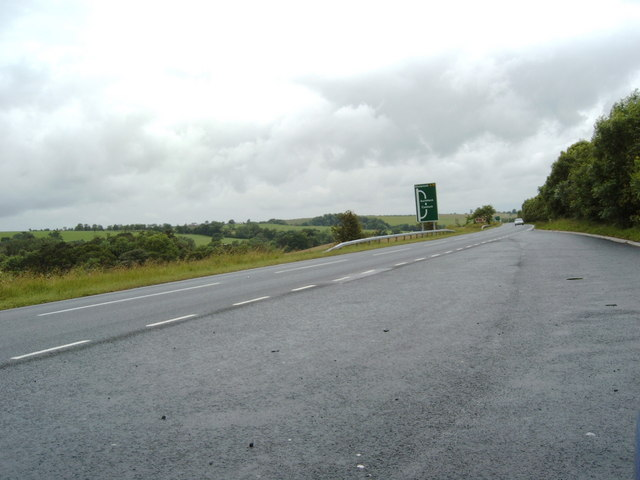 Lay-by on the A76 just south of Cumnock