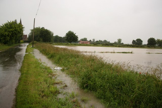 Flood in Harby