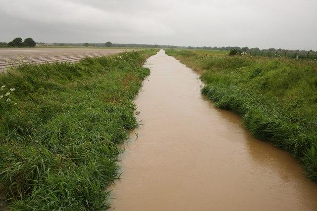 Wigsley Drain flooded
