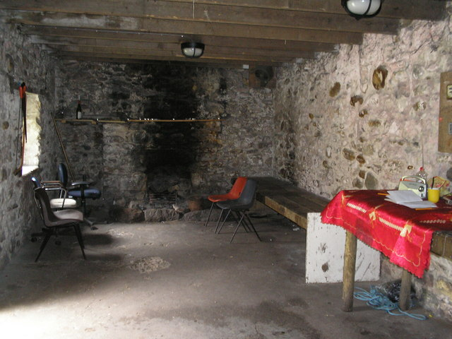 Inside Corryhully Bothy