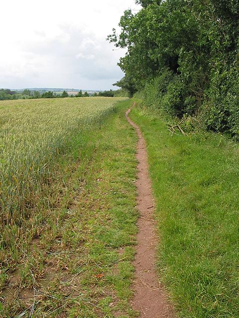 Footpath near Archenfield
