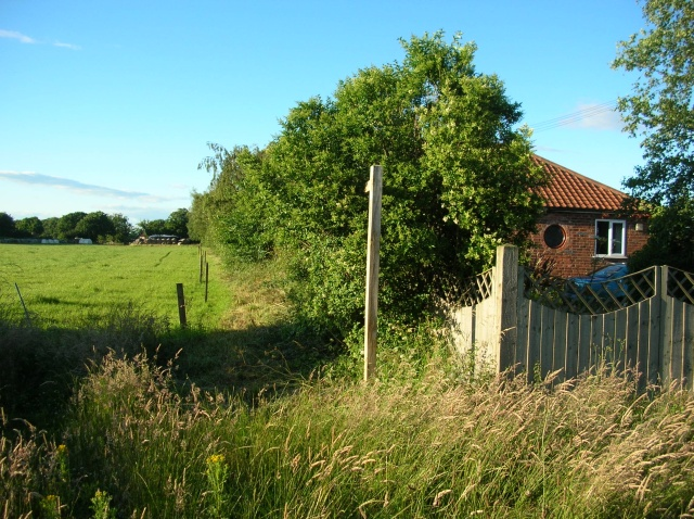 Footpath to Kexby Stray