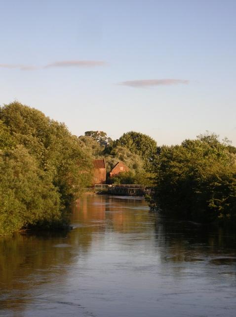 Downstream on the Derwent