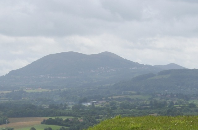 Malvern Hills from near Clifton-upon-Teme