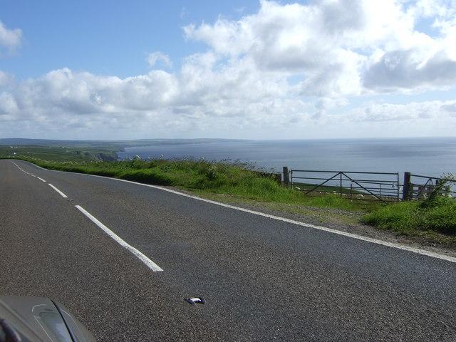 Coastal view near Newport