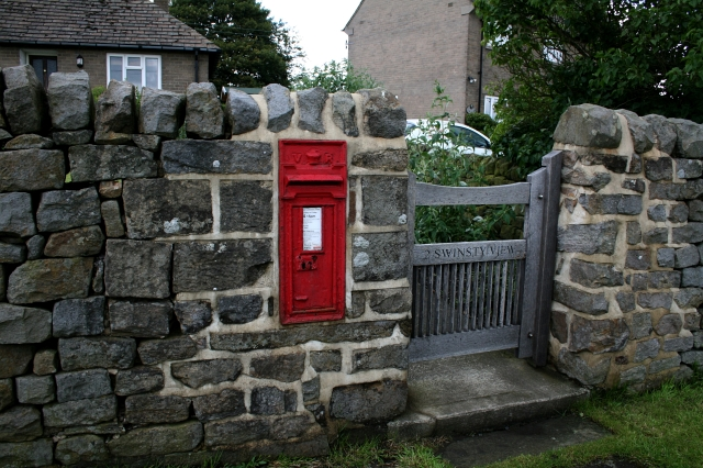 Victorian Postbox at Bland Hill.