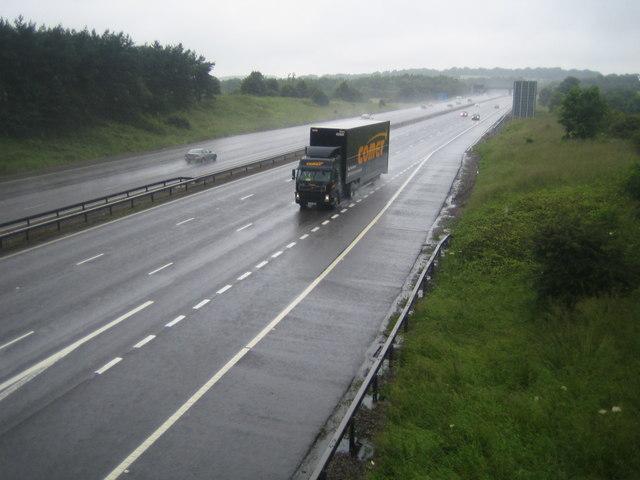 M1 Motorway near Junction 22
