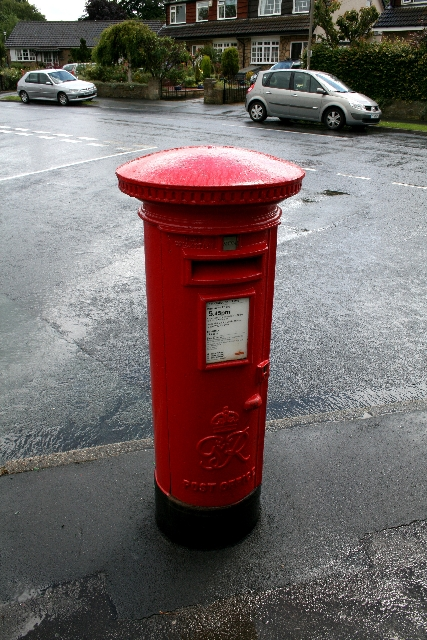 George VI Postbox in Ilkley.