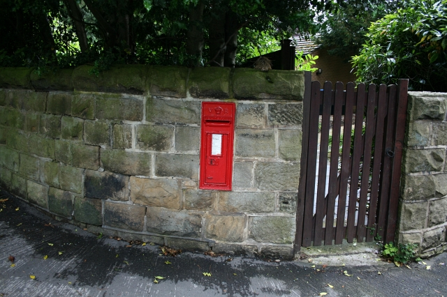 Victorian Postbox in Ilkley.