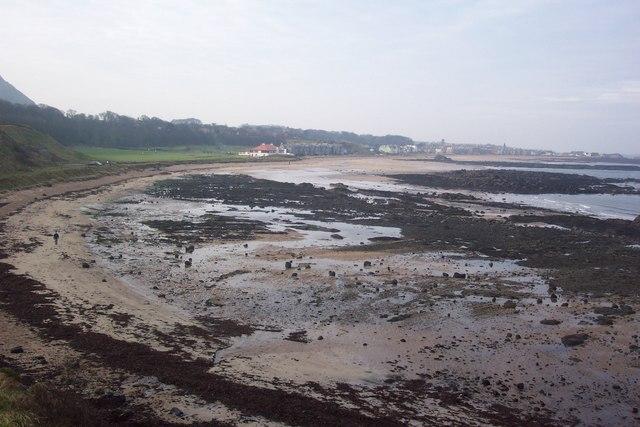Milsey Bay towards North Berwick