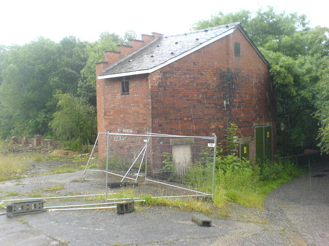 Electricity Substation at top of Borsdane Woods