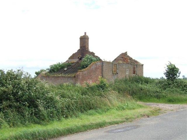 Derelict House at Block Fen Wimblington