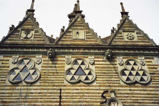 Rushton Triangular Lodge: detail